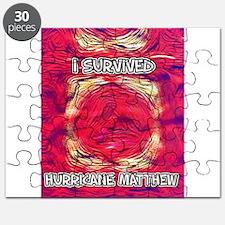 Hurricane Matthew Survivor Puzzle