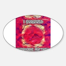 Hurricane Matthew Survivor Decal
