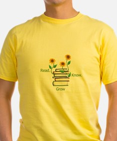 Sun Flowers Books T-Shirt