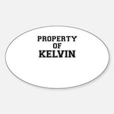 Property of KELVIN Decal