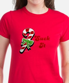 Candycane Suck It Tee