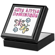 Cute Little Dominique Keepsake Box
