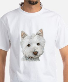 Cute West Highland White Terrier Dog T-Shirt