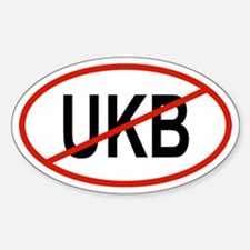UKB Oval Decal