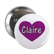 "Claire 2.25"" Button"