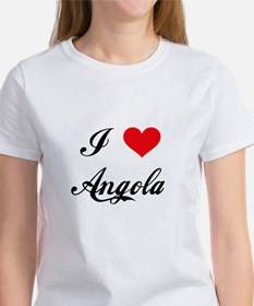 I Love Angola Women's T-Shirt