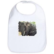 Elephant Mother & Baby Bib