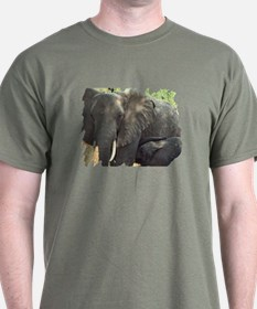 Elephant Mother & Baby T-Shirt