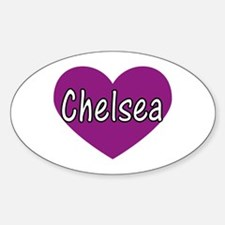 Chelsea Oval Decal