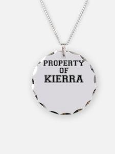 Property of KIERRA Necklace
