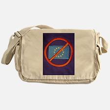 Anti European Union Messenger Bag