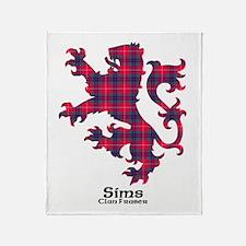Lion-Sims.Fraser Throw Blanket