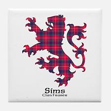 Lion-Sims.Fraser Tile Coaster