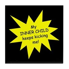 Inner Child Tile Coaster