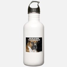 Cute Angry dog Water Bottle
