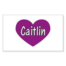 Caitlin Rectangle Decal