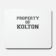 Property of KOLTON Mousepad