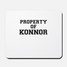 Property of KONNOR Mousepad