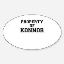 Property of KONNOR Decal