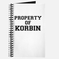 Property of KORBIN Journal