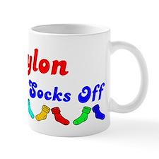 Waylon Rocks Socks (B) Mug