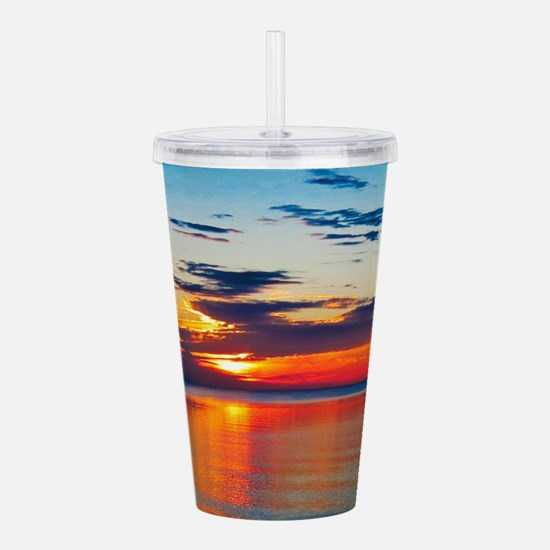 Evening Sunset Acrylic Double-wall Tumbler