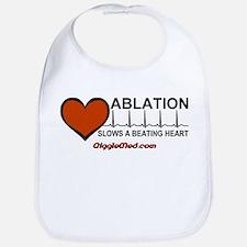 Ablation Slows Beating HeartT Bib