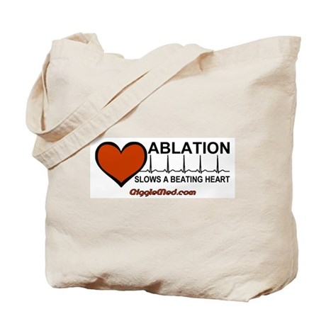 Ablation Slows Beating HeartT Tote Bag
