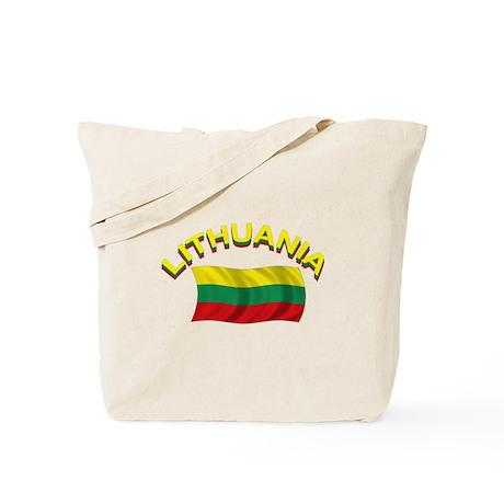 Lithuanian Flag 1 Tote Bag