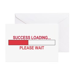 SUCCESS LOADING... Greeting Cards (Pk of 10)