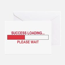 SUCCESS LOADING... Greeting Card
