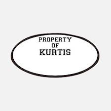 Property of KURTIS Patch