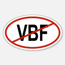 VBF Oval Decal