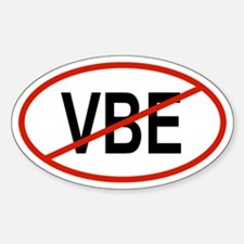 VBE Oval Decal