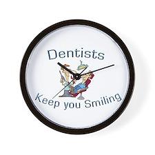 Dentists Wall Clock