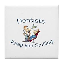 Dentists Tile Coaster