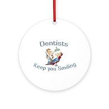 Dentists Ornament (Round)