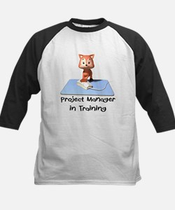 Project Manager in Training Kids Baseball Jersey