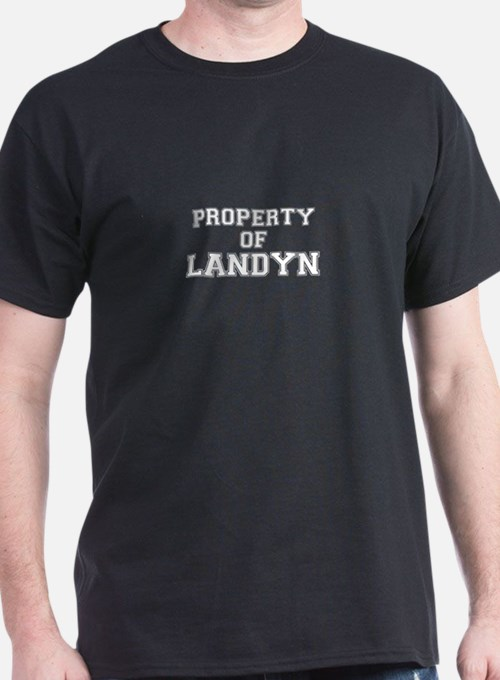 Property of LANDYN T-Shirt