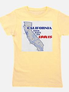 Funny California state Girl's Tee