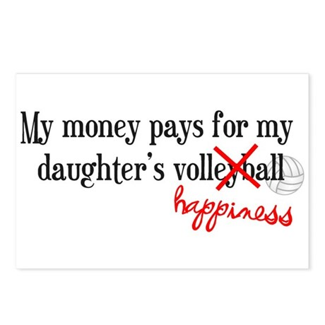 Volleyball Happiness Postcards (Package of 8)