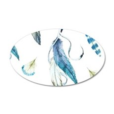 Dreamcatcher Feathers Wall Decal