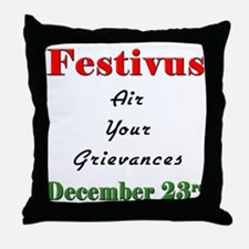 Air Your Grievances Throw Pillow