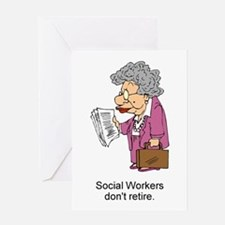 SW Don't Retire Greeting Card