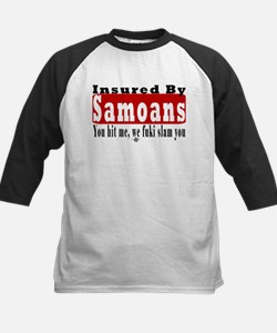 Insured by Samoans Kids Baseball Jersey
