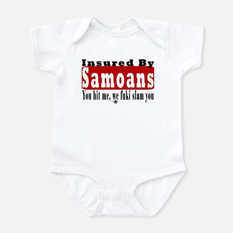 Insured by Samoans Infant Bodysuit