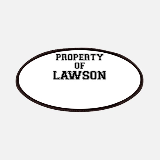 Property of LAWSON Patch