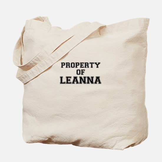 Property of LEANNA Tote Bag
