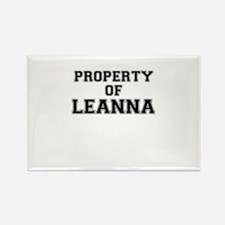 Property of LEANNA Magnets