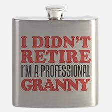 Didn't Retire Professional Granny Flask